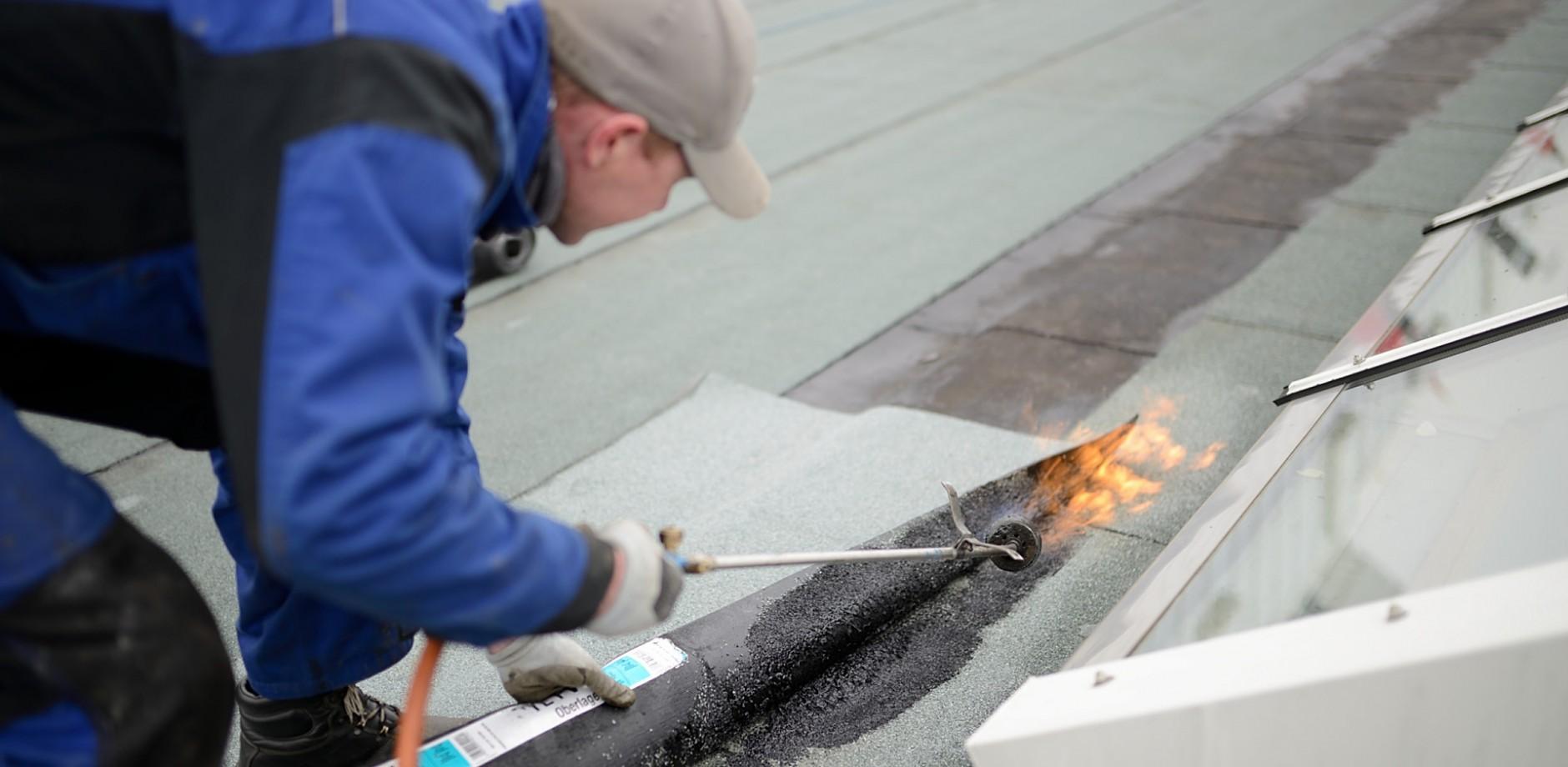 flachdach selber sanieren | dach bÖttcher