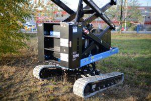 Raupenbühne Almac Bibi 1090 Fahrwerk S80_9999